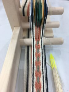 Tablet Woven Madder Root Belt