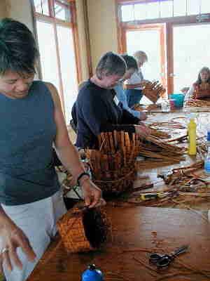 Cedar Bark Basketry Workshop
