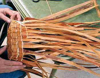 Cedar Bark Basketry
