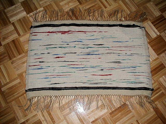 Wool Roving Rug