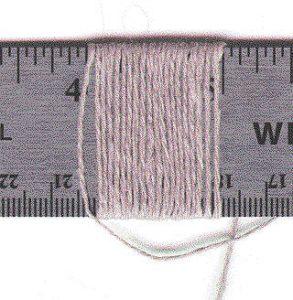 Yarn Sett Ruler