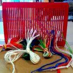 Threading a Sami Band Weaving Reed