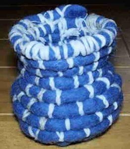 Fantti Wool Yarn Basket