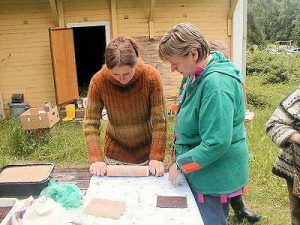 Polypore Papermaking