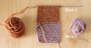 Knit Slipper Block1