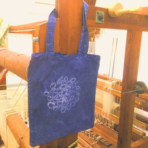 Logwood Dyed Tote Bag