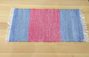 Handspun Wool and Linen Table Runner