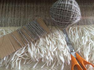 Cutting Flokati Pile