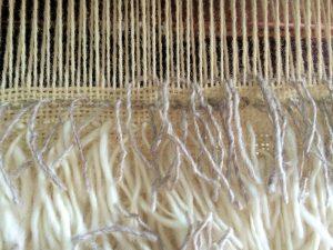 Flokati Rug Weaving
