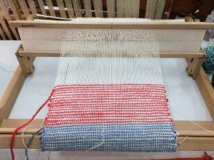 Rigid Heddle Weaving Project