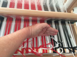 Front to Back Loom Warping
