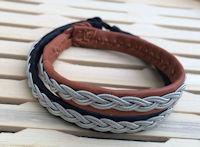 Sami Reindeer Leather Braceleets