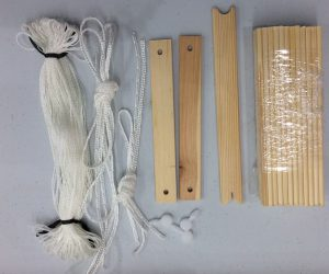 Band Loom Heddles and Sticks