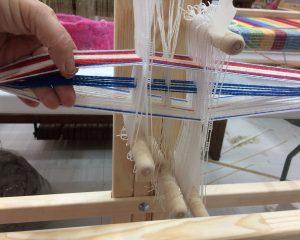 Pattern Pickup on Band Loom