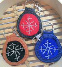 Reindeer Leather Keyrings