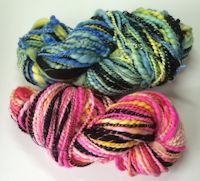Hand Spun Saori Weaving Art Yarn
