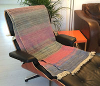 Hand Woven Wool Throws