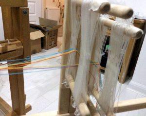 Band Loom Warping