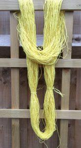Handspun Banana Fibre Yarn