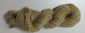 Rose Fibre Yarn dyed with Roses