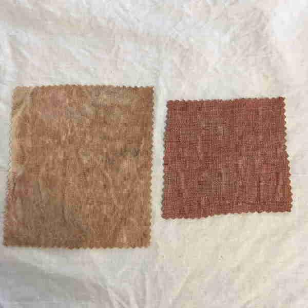 Scoured Linen Sample