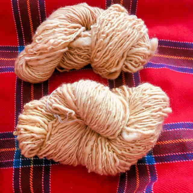 Apple Leaf Dyed Yarn