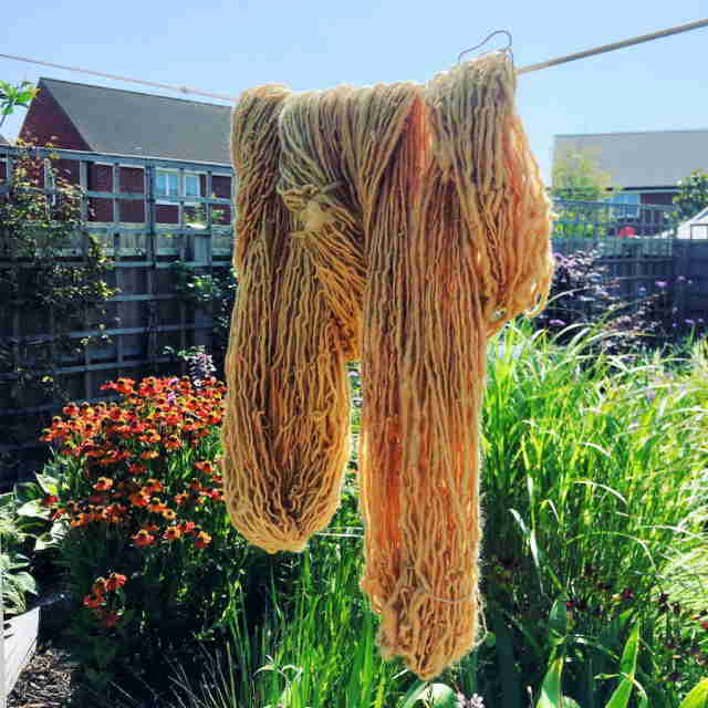 Apple Dyed Yarn