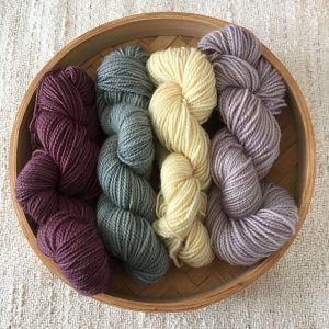 Natural Plant Dyed Sock Wool