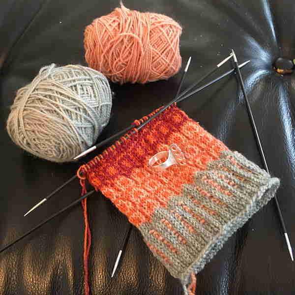 Wool Sock Knitting