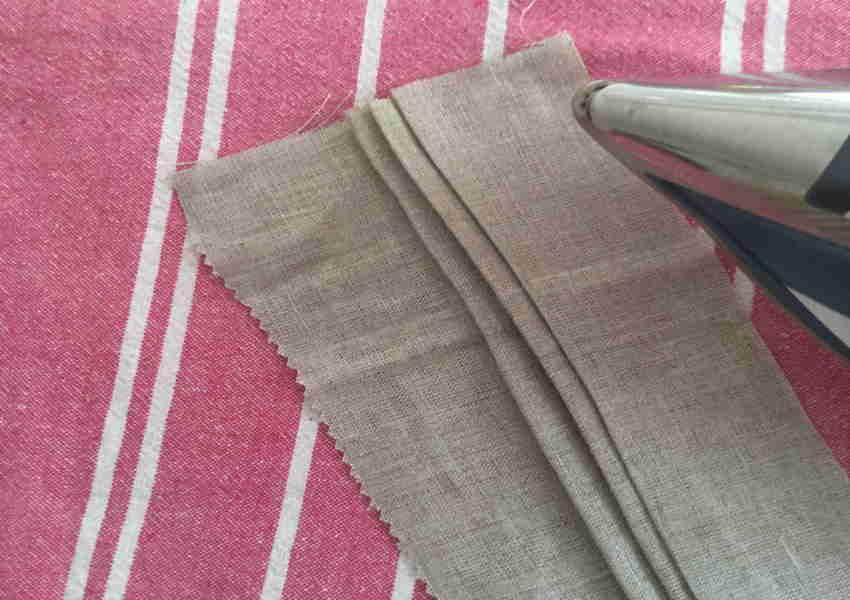 Iron Folds Linen