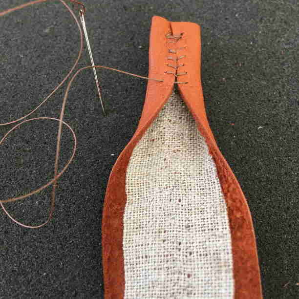 Stitch Reindeer Leather